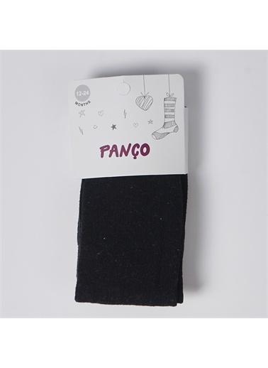 Panço Kız Çocuk Külotlu Çorap 19236000008 Siyah